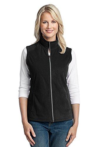 Authority Port Womens Vest (Port Authority Women's Microfleece Vest, Medium, Black)