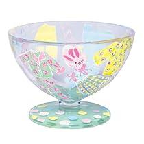 Lolita Hand Painted Glass Sundae Bowl, Pajama Party