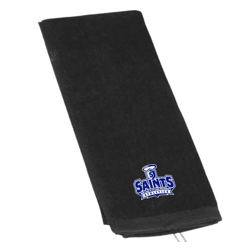 OLLU Black Golf Towel 'Our Lady of the Lake University Athletics - Offical Logo' by CollegeFanGear