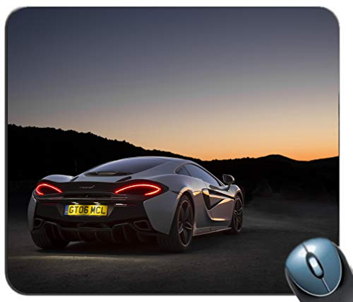 Super Classic Sports Car Background Mouse Pad Laptop Computer PC Mouse Pad Gaming Mat Desktop Mousepad Home Office ()