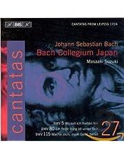 Bach, J.S.: V 27: Cantatas, Bwv 5, 80, 115