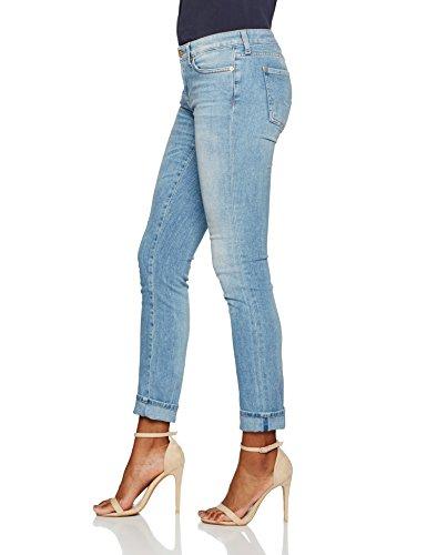 7 Skinny Blue Mankind mid Jeans Femme For 0lb Pyper Bleu All zrqxwrFI
