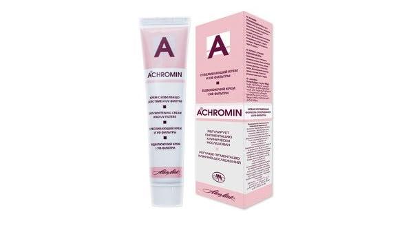 Achromin – Crema blanqueadora para las manchas oscuras, manchas de la vejez y posembarazo y manchas marrones – 45 ml: Amazon.es: Salud y cuidado personal