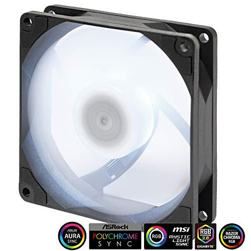 Scythe Kaze Flex 92mm RGB LED Fan, PWM 300-2300 RPM, No Controller Included, Single Pack
