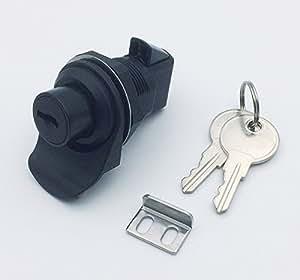Amazon.com : Push Button Latch with locking for Marine