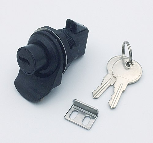 OWACH Push Button Latch with locking for Marine Boat Tool box, Glovebox, Radio box, Electronic box (Marine Electronics Box)