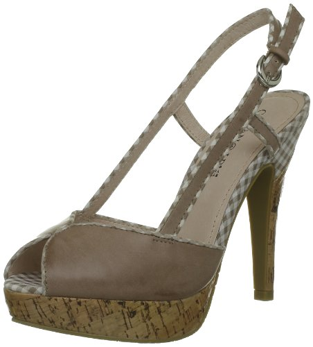 Beige Bombas mujer Taupe CAFèNOIR 273 para Beige Ng906 qXAnwOx6