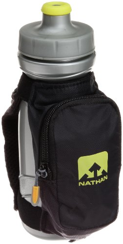 Nathan Quick Draw Plus Handheld Hydration Pack, Black