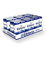 Edelweiss Weissbier Wheat Beer Can 330ml (Pack of 24)