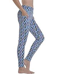 Yoga Pants, Women's Power Flex Yoga Pants Tummy Control...