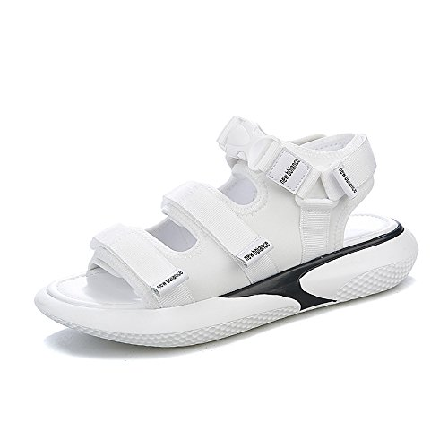 Étudiant Universel Plat Chaussures Vintage blanc QQWWEERRTT Chaussures Femelle Nouveau Mode Sandales Chaussures Sport wp4qaFTX