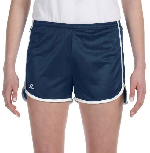 Russell Athletic Women's Dazzle Short - NAW - M (Russell Athletic Shorts Jersey)
