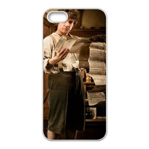 The Hobbit An Unexpected Journey 04 coque iPhone 4 4S cellulaire cas coque de téléphone cas blanche couverture de téléphone portable EOKXLLNCD20102