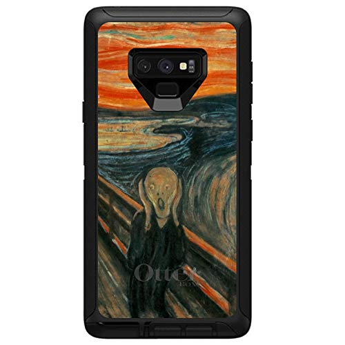 Edvard Munch Note - DistinctInk Case for Galaxy Note 9 - Custom Black OtterBox Defender - Edvard Munch The Scream - Classic Art