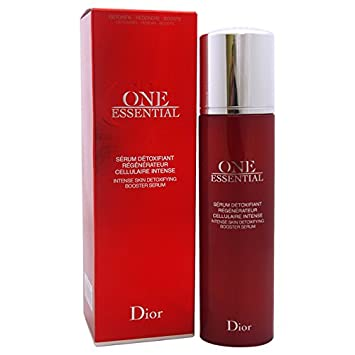 Christian Dior One Essential Intense Skin Detoxifying Booster Serum for Unisex 1.7 oz Facial Moisturizer Oil Free - 2 oz. by Beauty Without Cruelty (pack of 2)