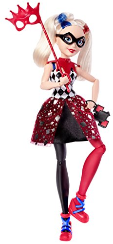 DC Super Hero Girls Harley Quinn Masquerade Doll