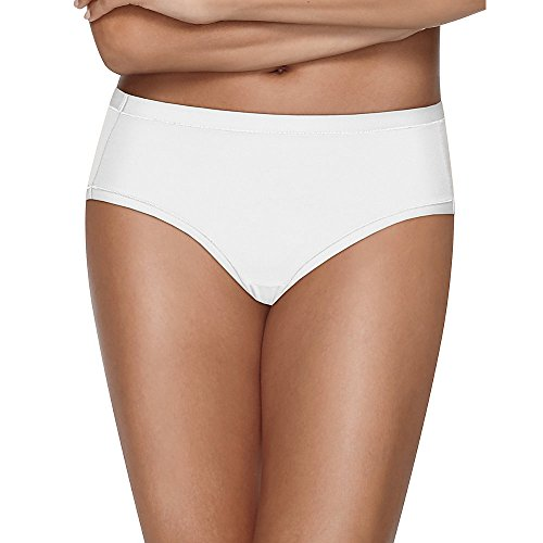 Nylon White Brief - Hanes 4 Pack Ultimate Briefs White Oatmeal Heather 6