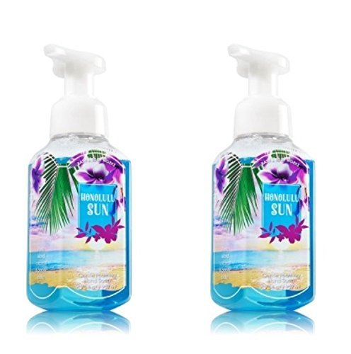 Bath & Body Works Honolulu Sun Gentle Foaming Hand Soap - Pack of 2 by Bath and Body Works