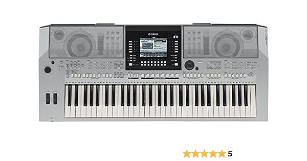 Yamaha PSR-S910 61keys Plata piano digital: Amazon.es ...