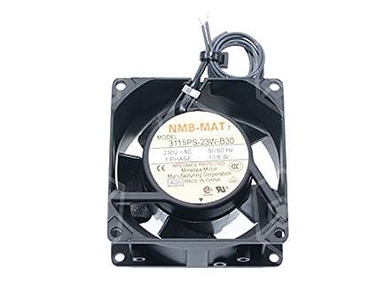 eloma Ventilador Motor nmb-003 3115ps de 23 W de B30 10/8 W ...