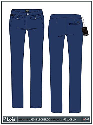 LOIS - Pantalon Flecherco Joplin, Mujer, Color Azul, Talla 32