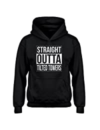 Indica Plateau Youth Straight Outta Tilted Towers Kids Hoodie