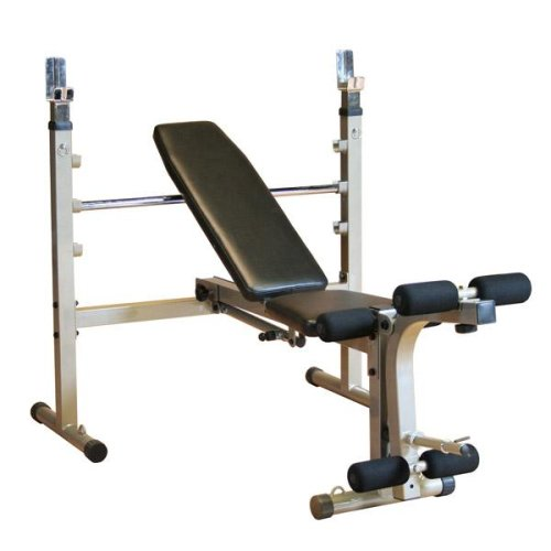 Body-Solid Best Fitness Olympic Folding Bench (BFOB10) by Body-Solid