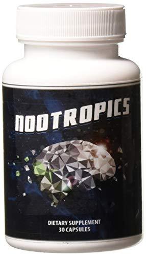 Vitality Max Labs Nootropics Brain Enhancement Supplement, 1.3 Ounce