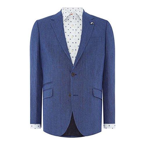 サイモンカーター メンズ ジャケット&ブルゾン Fine Herringbone Thornhill Jacket [並行輸入品] B07BF8GK6S 44 Regular