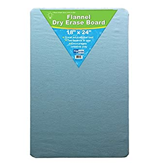 Amazon Com 18 X 24 Two Sided Flannel Dry Erase Board Retail Industrial Scientific