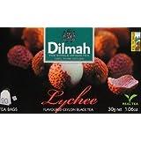 DILMAH Tea - Lychee Flavored Black Ceylon Tea 20 Tea Bag