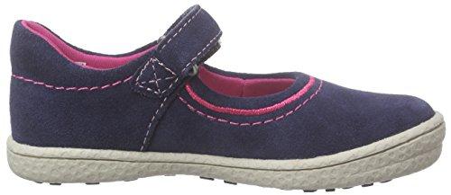 Indigo Mädchen 426 008 Knöchelriemchen Blau (Navy 839)