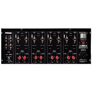 Pyle 8-Channel Home Theater Amplifier Rack Mount Amp, Black, 8000 Watt (PT8000CH)