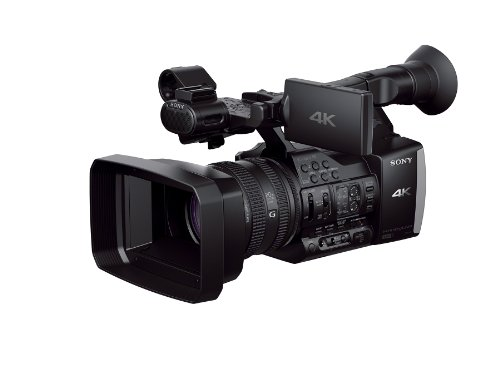 Sony FDRAX1 4K Camcorder Video Camera with 20x Optical Zoom with 3.5-Inch LCD