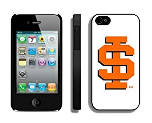 Custom Iphone 4/4s Case Cool Design Cellphone Cover Idaho State Bengals 4