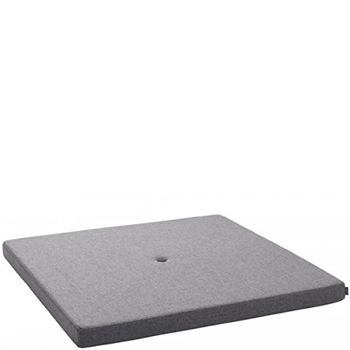 by Klipklap KK Square Mattress - Bluegrey With Grey Button