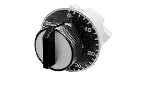 Peapsa; MM 7-286 (más opciones click: aquí); Interruptor minutero a empotrar de 30 minutos: Amazon.es: Bricolaje y herramientas