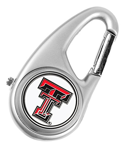 Tech Red Raiders College Watches - NCAA Texas Tech Red Raiders - Carabiner Watch