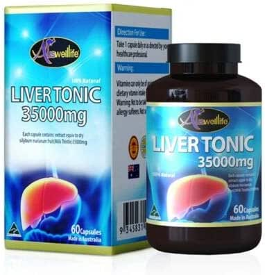 Auswelllife Lier Tonic 3500 Australia Remove The toxins from The Liver.