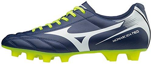 Footbal De Fluorescent Pour Monarcida Hommes Md Neo Jaune Marine Mizuno Bleu Chaussures qEaPTwEt
