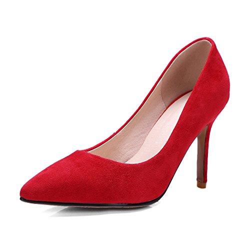Nine SevenCourt Shoes - Sandalias con cuña mujer Red