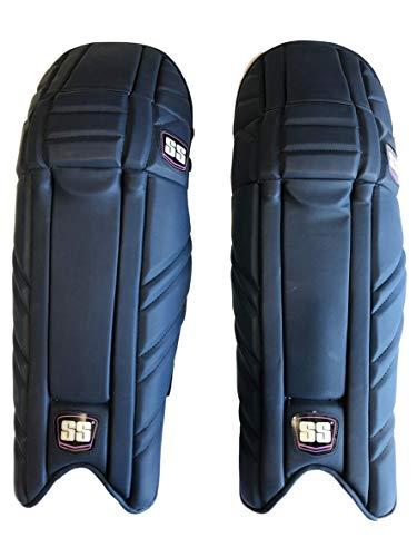SS Cricket Maxlite Premium Batting Leg Guards - Men's Size, 2019 Edition (Blue ()