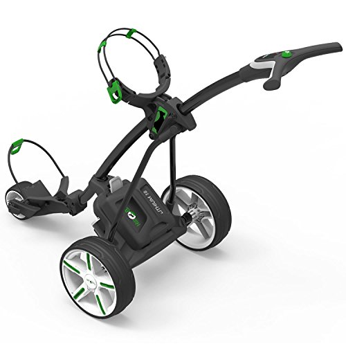 HillBilly 2017 Electric Golf Trolley Metallic Black (18 Hole Lithium...