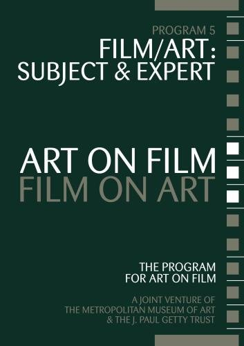Art on Film/Film on Art, Film/Art: Subject and Expert by J. Marle by MUSE Film and Television