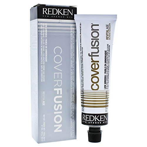 Redken Cover Fusion Low Ammonia Hair Color for Unisex, 7NN Natural, 2.1 - Redken Fusion