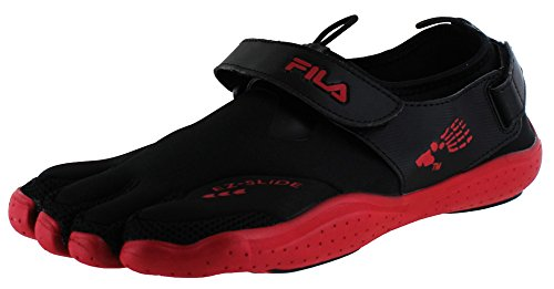 - Fila Men's Skele-Toes EZ Drainage Red Sneakers 12 M