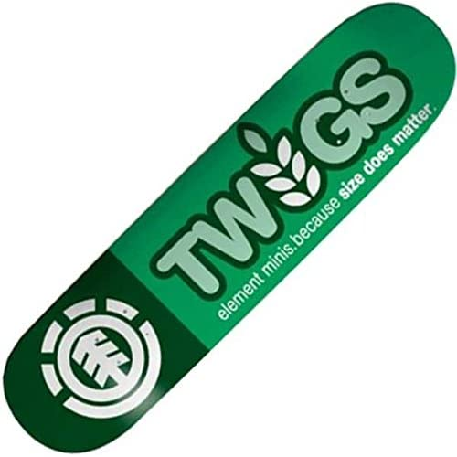Element Logo Twig # 1T thriftwood 18,1cm Skateboard