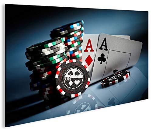 Quadro moderno juegos Aces Poker Casino Arcade tarjeta ...