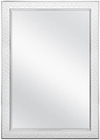 MCS 24×36 Inch Nordic Blossom, 29×41 Overall Size, White Mirror