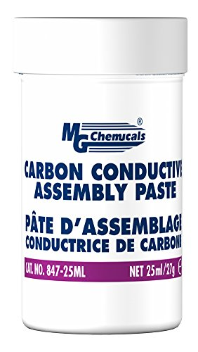 MG Chemicals Carbon Conductive Assembly Paste, 1 oz  Jar